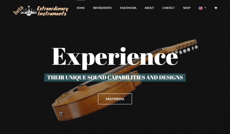Extraordinary Instruments project of RizosMedia digital marketing agency