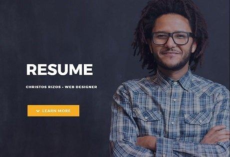 Resume Demo